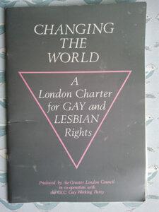 GLC Changing the World Charter 1985