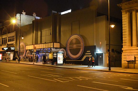 Outside of The Fridge, Brixton